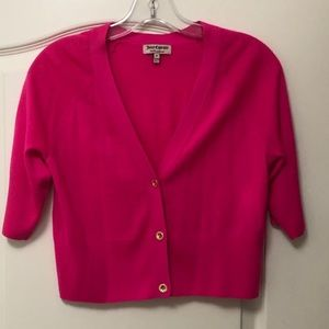Juicy Couture Pink Cashmere Cardigan